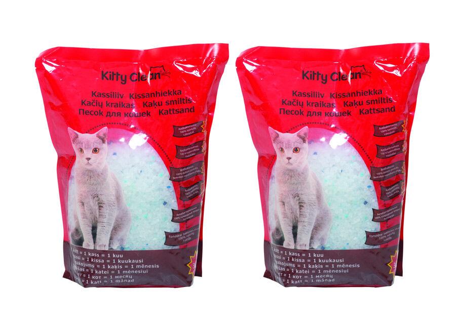KittyClean Piimaa kissanhiekka 2 x 3,8 l