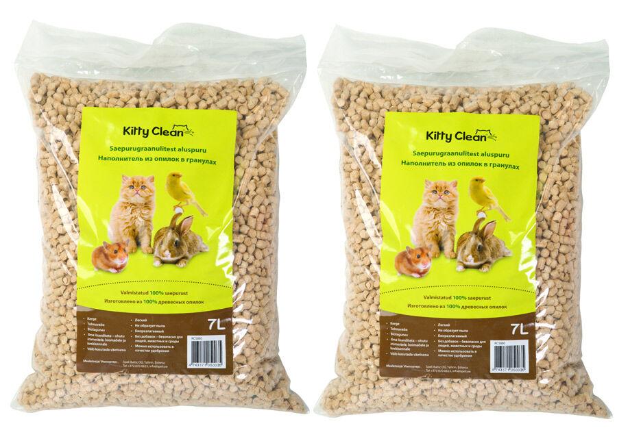 KittyClean Alusrouhe sahanpururakeista 2 x7 l