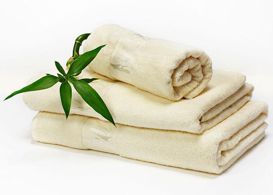 DOSSA Bambu pyyhkeet norsunluu