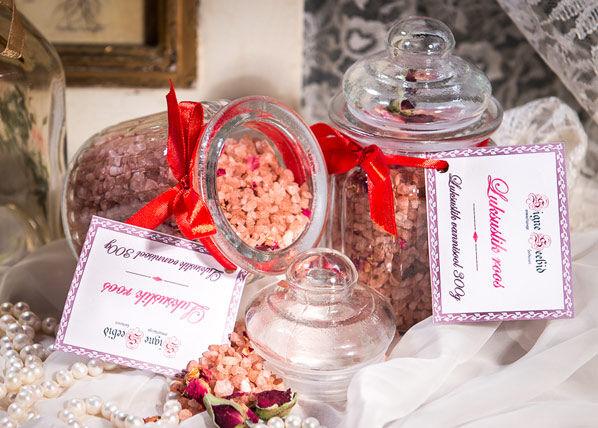 Signe Seebid Ylellinen kylpysuola ruusunkukka, 2 kpl