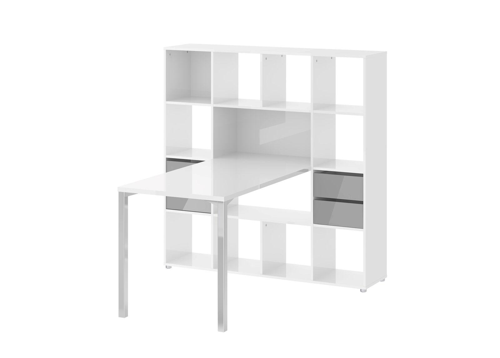 Tvilum Kirjoituspöytä+hylly FUNCTION PLUS