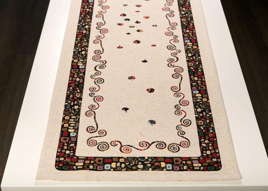 SikSak Globeliinikangas pöytäliina ART 45x140 cm