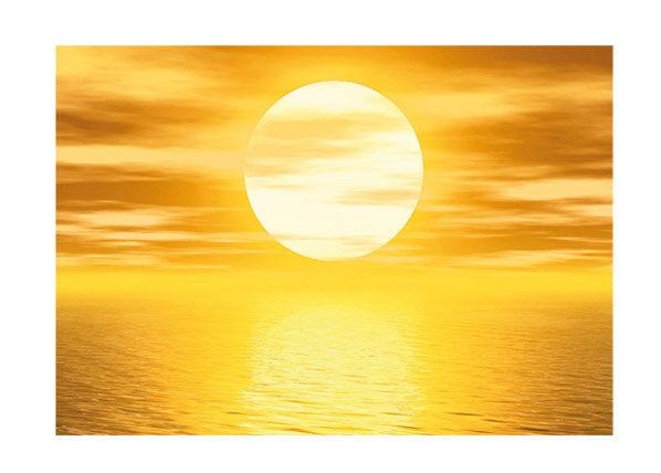 Bilder-Welten Kuvatapetti GOLDEN SUN 400x280cm