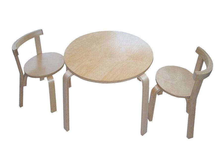 Bella Eesti 65% Lasten pöytä PAULA-KID + 2 tuolia OLLE