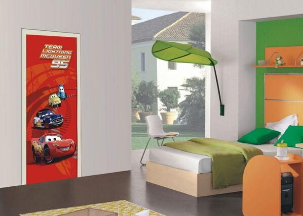AG Design Fleece kuvatapetti DISNEY CARS 90x202 cm