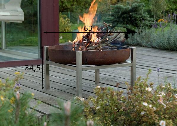 Arpe Studio Tulisija Crate Ø 63 cm