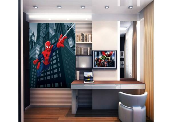 AG Design Fleece kuvatapetti SPIDERMAN