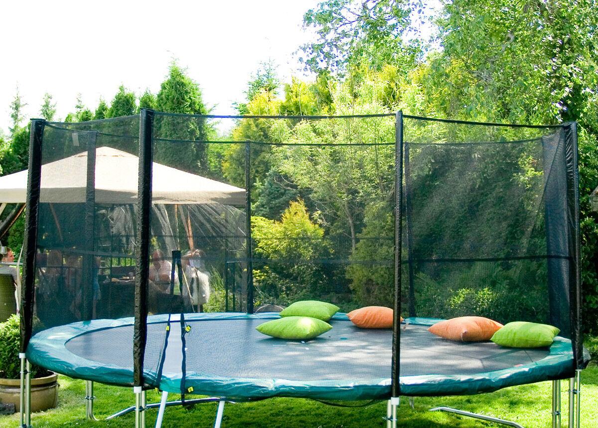 Image of Carden4you Turvaverkko 3,66 m trampoliiniin tolpilla