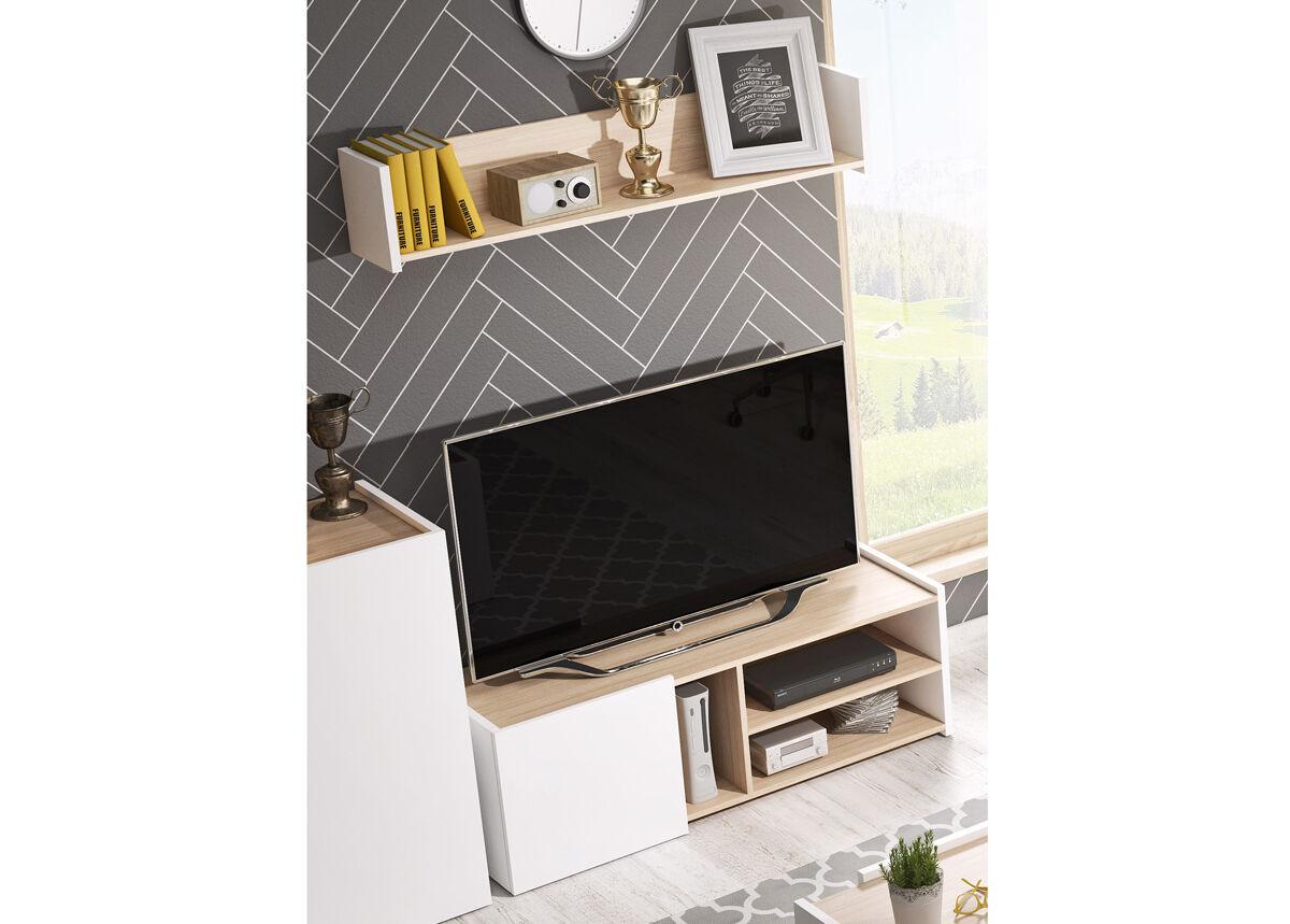 Laski TV-taso ja seinähylly