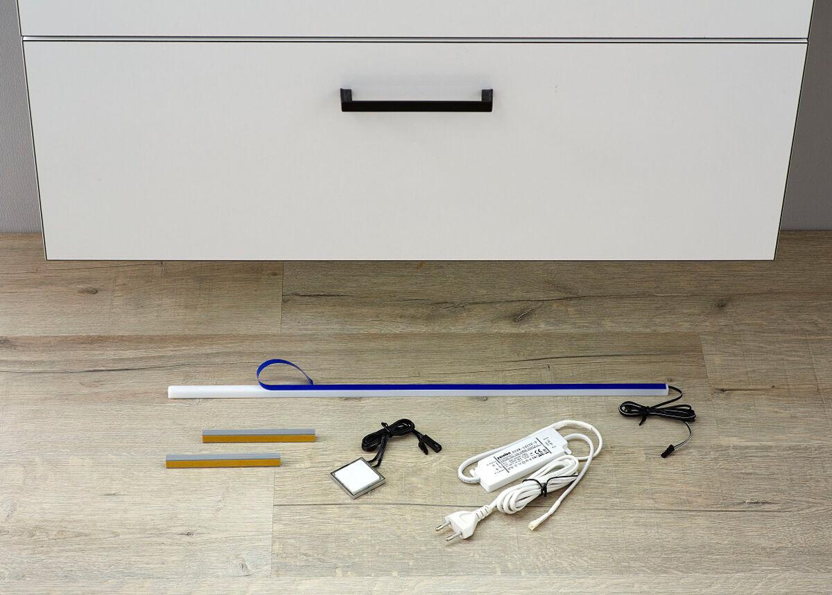 Pelipal LED-valaistus muuntajalla Balu kaappiin