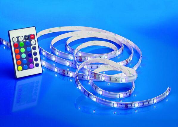 LED-valoketju 3m+RGB kaukosäädin
