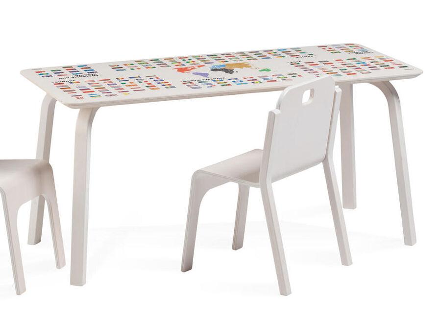 TARMEKO KIDS Lasten pöytä TOMMY 2 REGIO MAAILMANKARTALLA