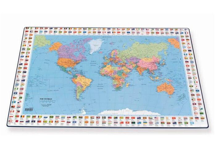 Hamelin Pöytätabletti maailmankartta 44x63 cm