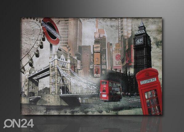 Image of Seinätaulu LONDON 120x80 cm