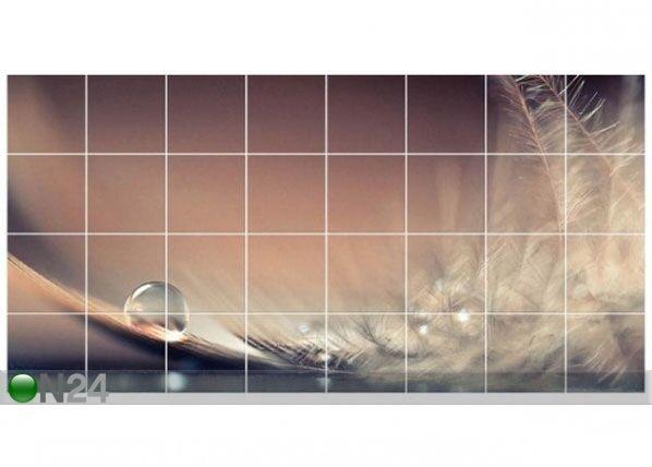 Tarrat seinälaatoille STORY OF A WATER DROP 60x120 cm