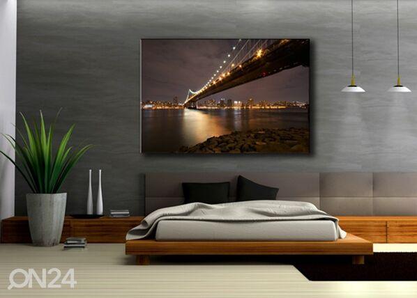 Image of Seinätaulu NEW YORK 120x80 cm
