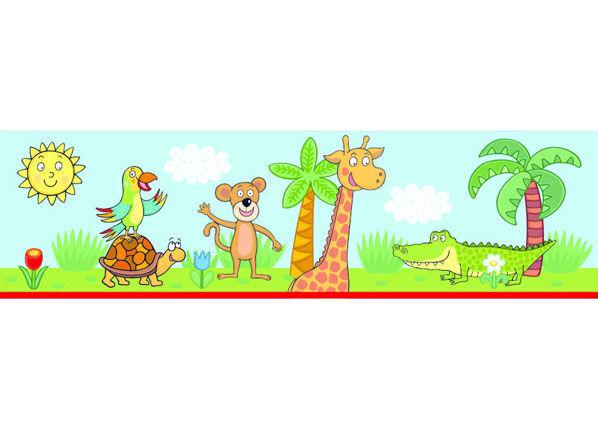 AG Design Seinätarra Giraf 10x500 cm