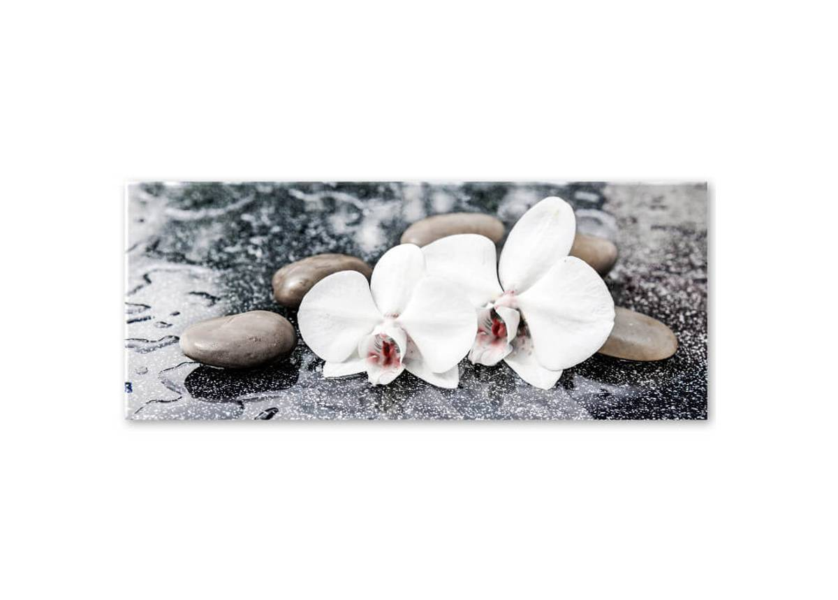 STY Lasitaulu Brown Stones 50x125 cm