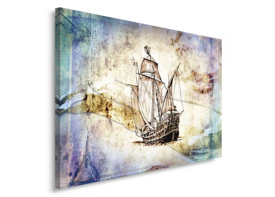 Seinätaulu Sailing ship 1 70x100 cm