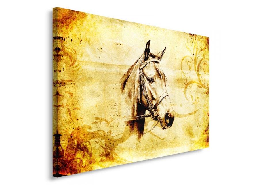 Seinätaulu Horse head 70x100 cm