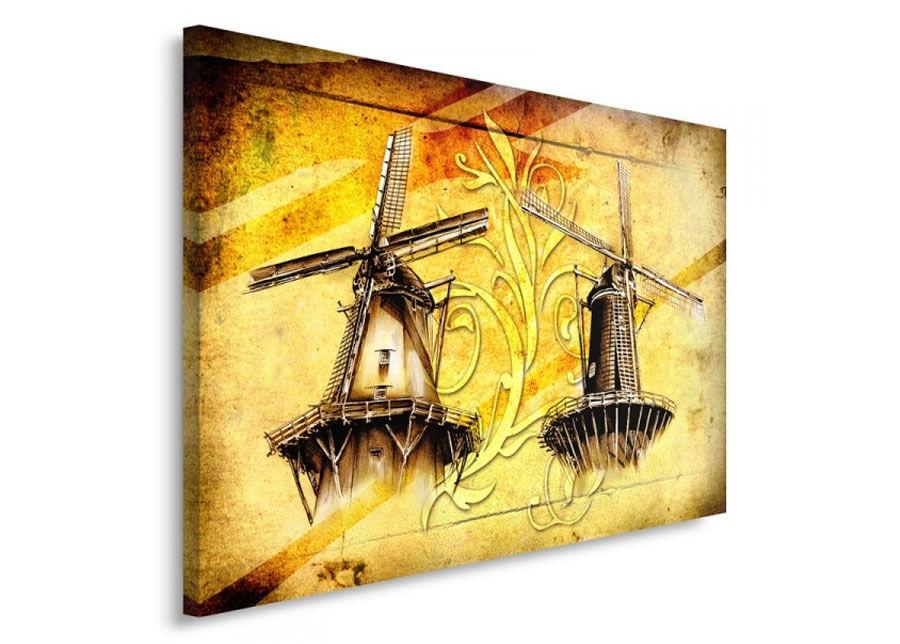 Seinätaulu Windmills 70x100 cm