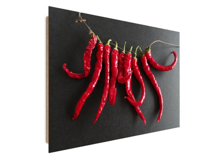Seinätaulu Chili Peppers 70x100 cm