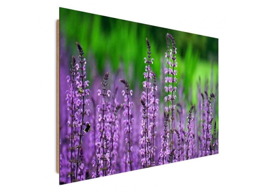 Image of Seinätaulu Blooming lavender 80x120 cm
