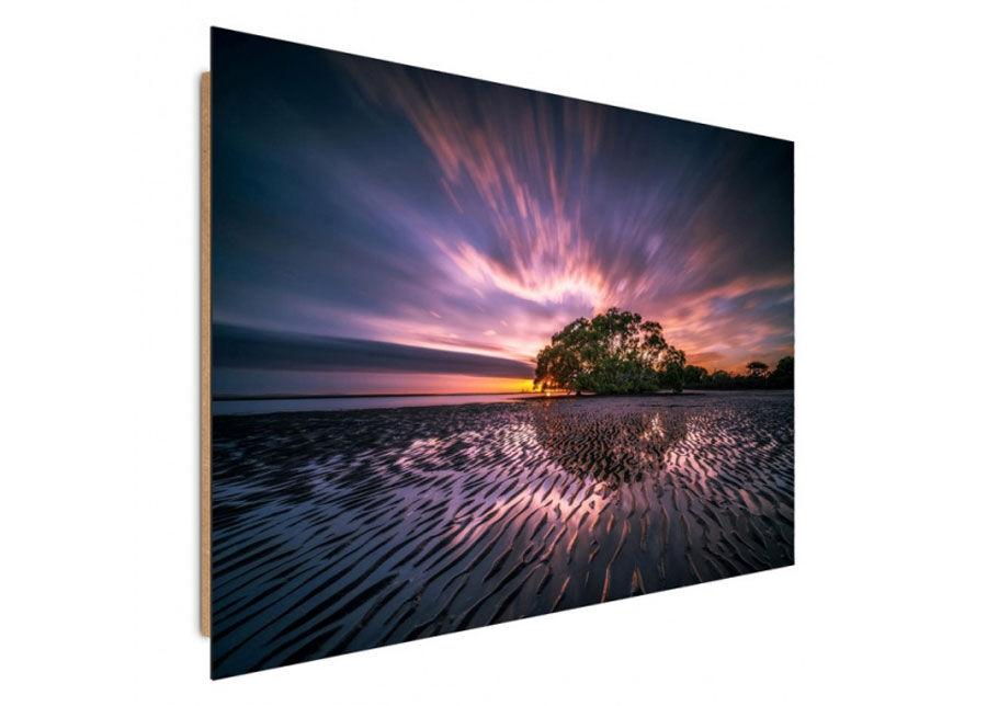 Seinätaulu Sunset on the beach 70x100 cm
