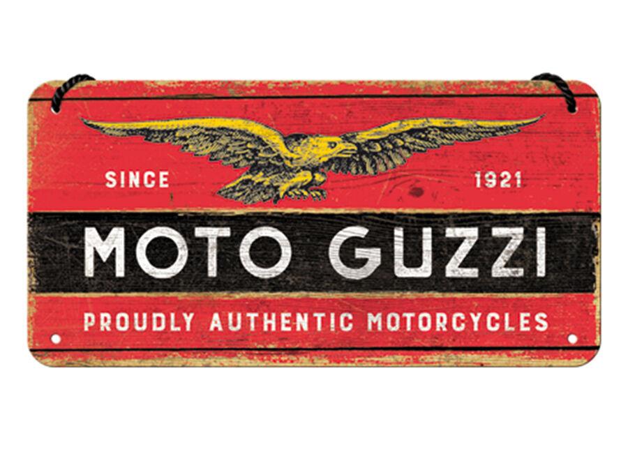 ART Retro metallijuliste Moto Guzzi 10x20 cm