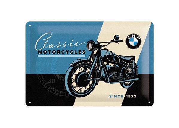 Image of ART Retro metallijuliste BMW Classic Motorcycles 20x30 cm