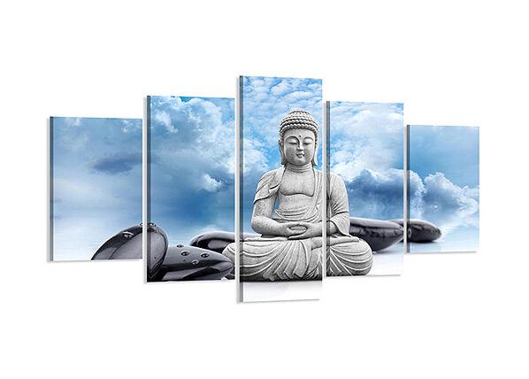 Visario Viisiosainen seinätaulu BUDDHA 200x100 cm