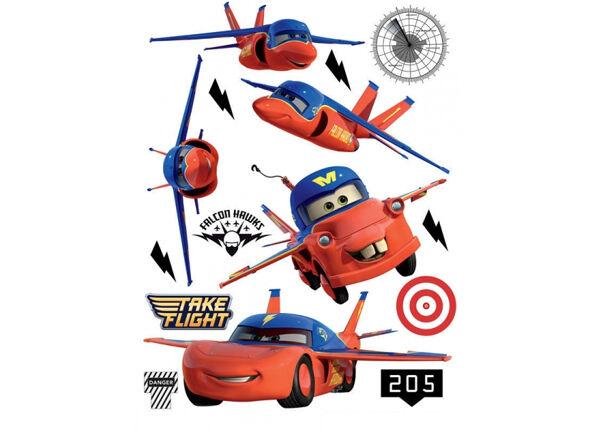 AG Design Seinätarra DISNEY CARS FLIES 42,5x65 cm