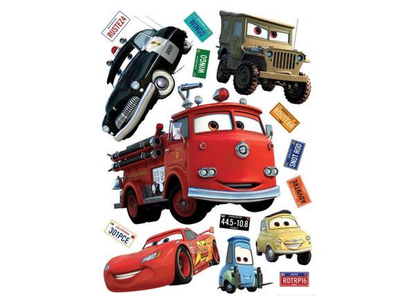 AG Design Seinätarra DISNEY CARS 65x85 cm