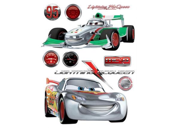 AG Design Seinätarra DISNEY CARS 2, 65x85 cm
