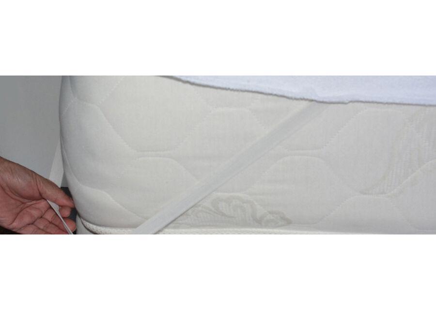 STROMA patjan suojalakana kuminauhalla 120x200 cm