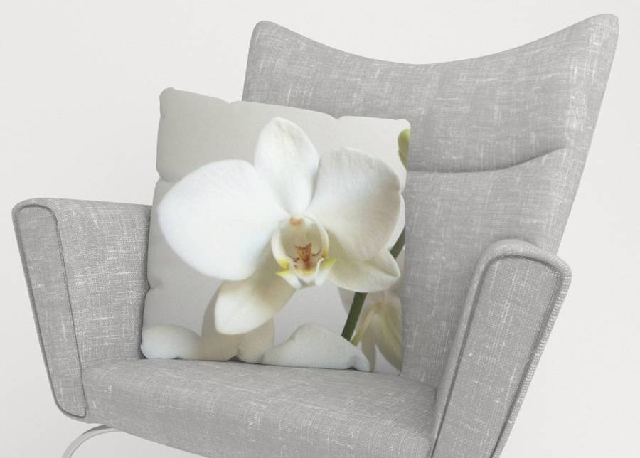 Image of Koristetyynyliina Riga Orchid 45x45 cm