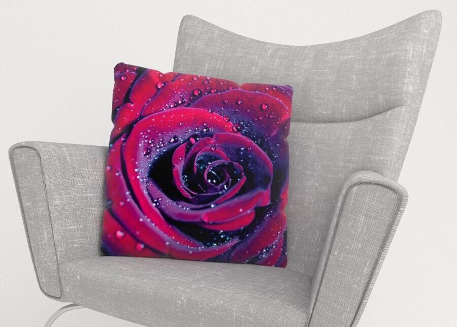 Image of Koristetyynyliina Rose of Love 50x50 cm