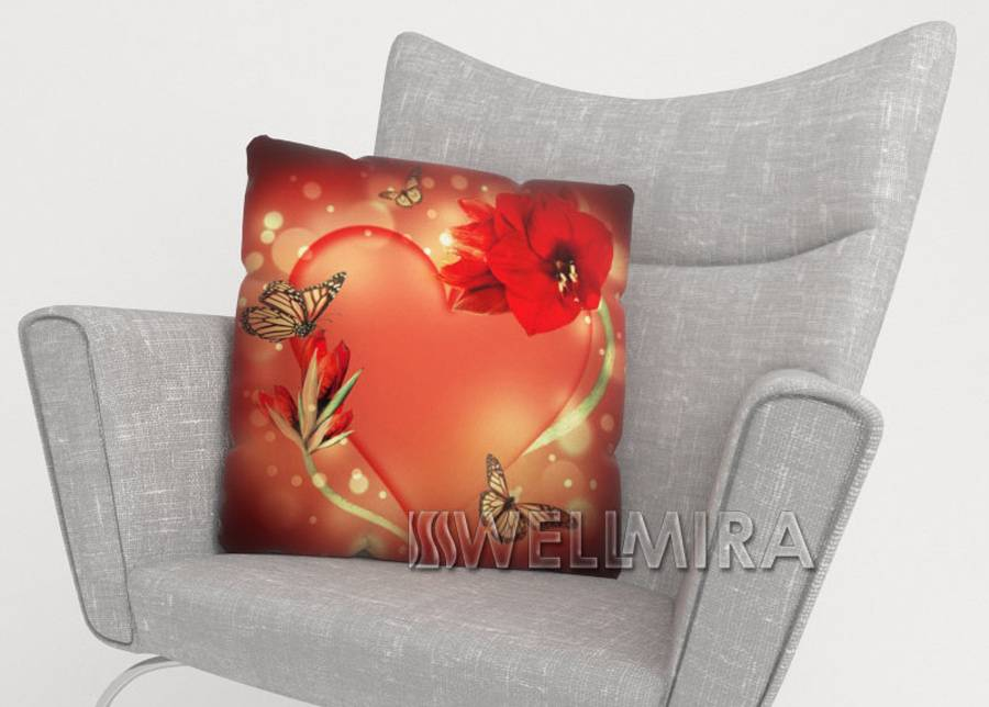Image of Koristetyynyliina Temptation 50x50 cm