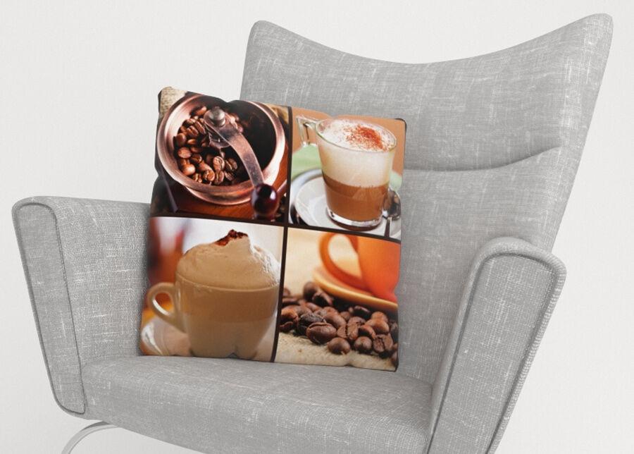 Image of Koristetyynyliina Coffee 4 45x45 cm