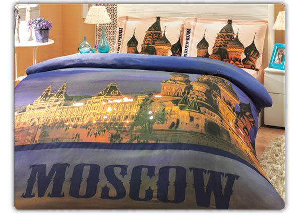 HOBBY HOME COLLECTION Pussilakanasetti MOSKVAS