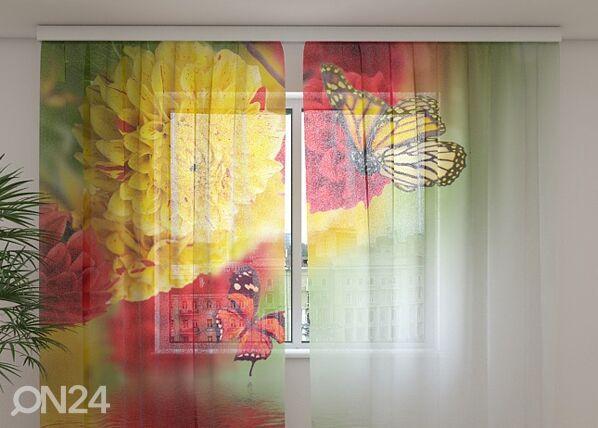 Wellmira Sifonki-kuvaverho BEAUTIFUL FALL 240x220 cm