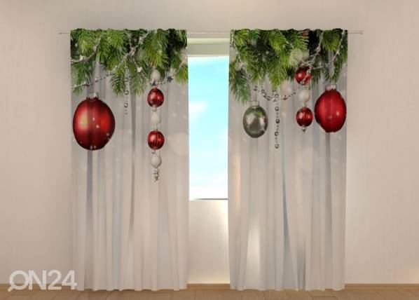 Image of Wellmira Pimennysverho Christmas Decorations 240x220 cm