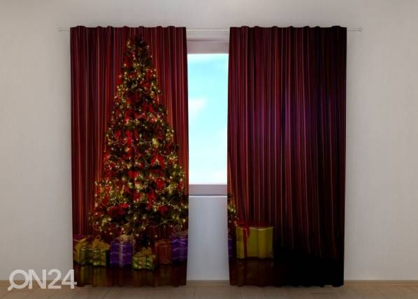 Wellmira Pimennysverho Christmas Tree 1 240x220 cm