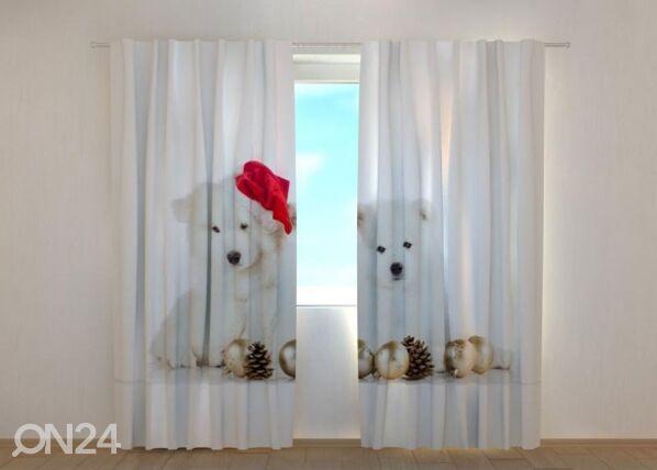 Image of Wellmira Pimennysverho Christmas Puppiess 240x220 cm