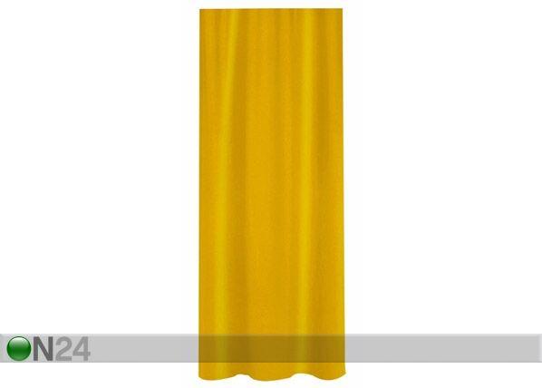 SPIRELLA Suihkuverho SPIRELLA PRIMO keltainen tekstiili