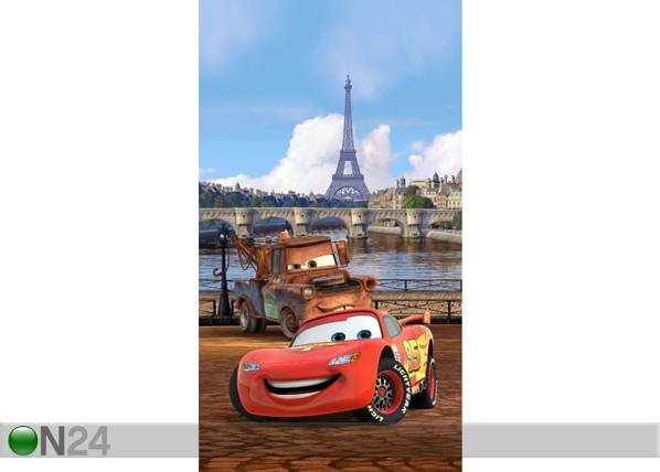 AG Design Fotoverho DISNEY CARS PARIS 140x245 cm