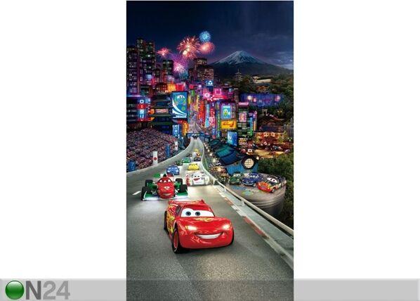 AG Design Pimentävä fotoverho DISNEY CARS 140x245 cm