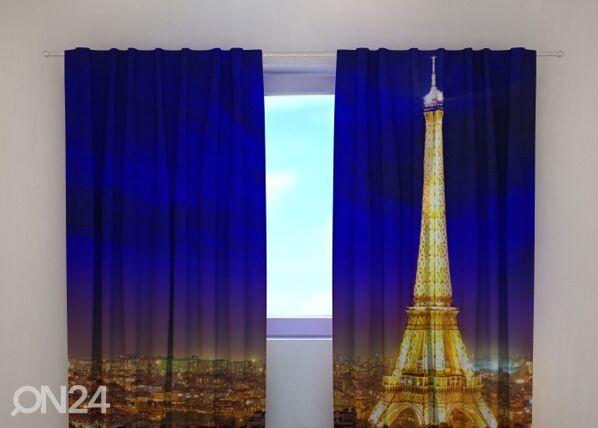 Wellmira Läpinäkyvä verho GLITTER PARIS 240x220 cm