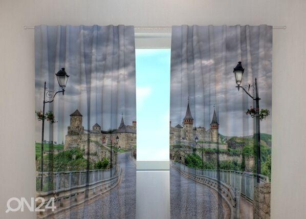 Wellmira Pimentävä verho KAMIANETS-PODILSKYI CASTLE 240x220 cm