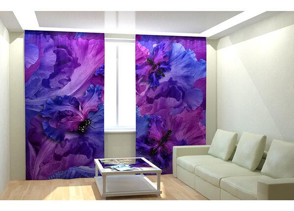 AT-Kodutekstiil Kuvaverhot FLOWER PERHONEN 300x260 cm